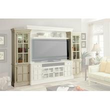 See Details - CHARLOTTE Left and Right Pier Cabinet Pair