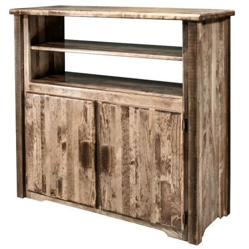 Montana Woodworks - Homestead Collection Media Center, Stain and Lacquer Finish