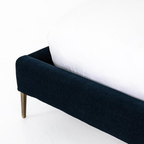 Four Hands - King Size Plush Navy Cover Rennie Bed