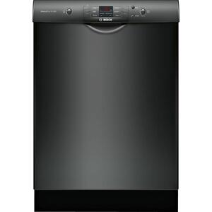 Bosch100 Series Dishwasher 24'' Black SHEM3AY56N