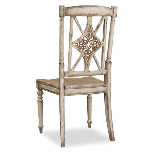 Hooker Furniture - Chatelet Fretback Side Chair - 2 per carton/price ea