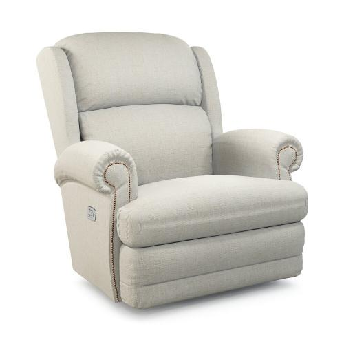 Kirkwood Power Wall Recliner w/ Brass Nail Head Trim