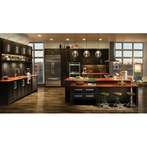 KitchenAid - 36-Inch 5-Element Induction Cooktop, Architect® Series II - Black