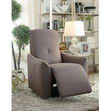 ACME Agico Recliner (Power Motion) - 59344 - Gray Fabric