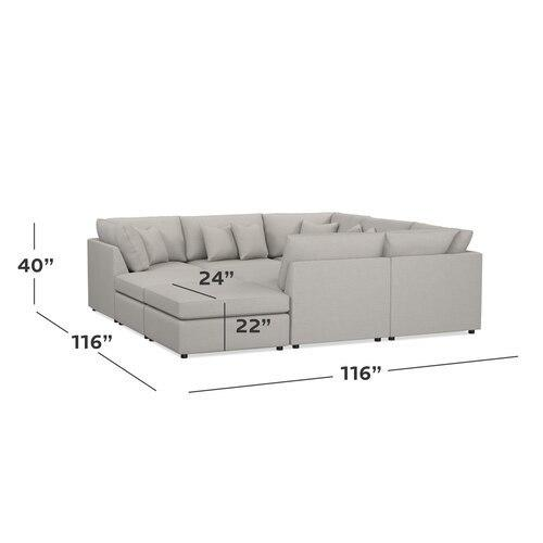Beckham Pit Sectional