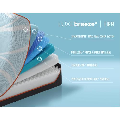Tempur-Breeze - TEMPUR-breeze - LUXEbreeze - Firm - King