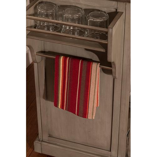 Product Image - Brigham Kitchen Island Gray - Natural