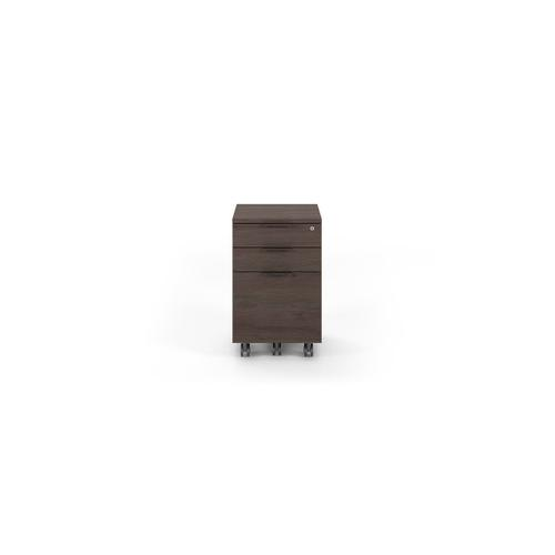 6907 Mobile File Cabinet in Sepia