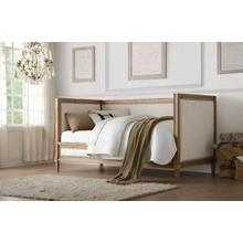 ACME Charlton Daybed - 39175 - Cream Linen & Salvage Oak