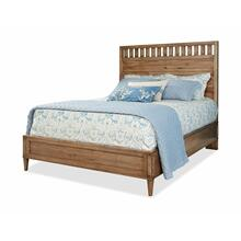 High Panel Bed Queen