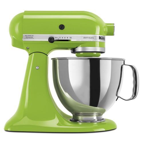 Gallery - Artisan® Series 5 Quart Tilt-Head Stand Mixer Green Apple