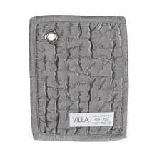 Bari Velvet Gray Quilt Swatch