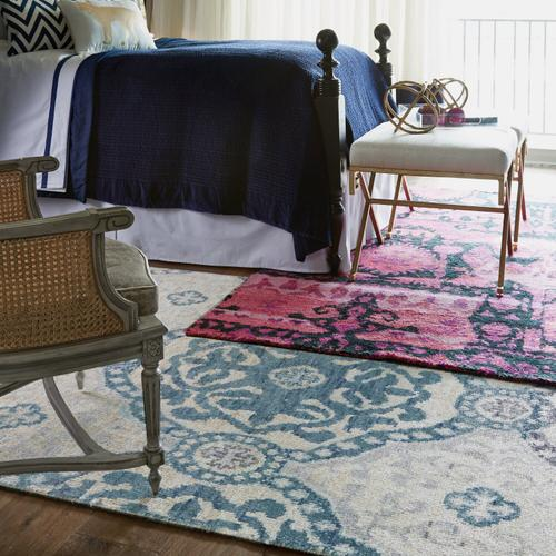 Capel Rugs - Carousel-Ring Leader Water - Rectangle - 5' x 8'