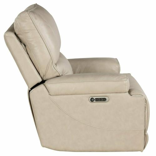 WHITMAN - VERONA LINEN - Powered By FreeMotion Power Cordless Recliner