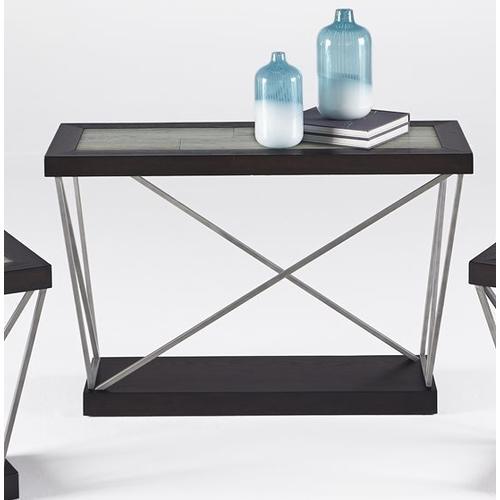 Sofa/Console Table - Woodtone Tile Finish
