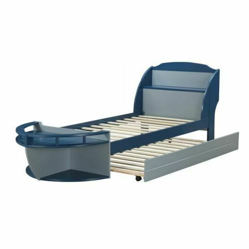 ACME Neptune II Trundle (Bed) - 30623 - Gray