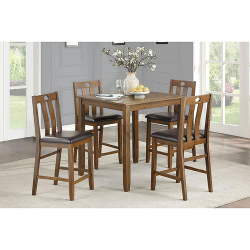 Gallery - 5-Piece Pack Counter Height Set