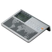 Howard Miller Atlas World Alarm Clock and Calculator 645761