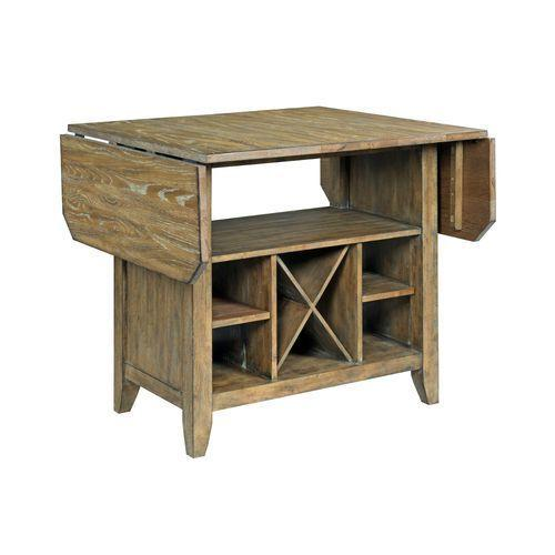 Gallery - The Nook Brushed Oak Kitchen Island