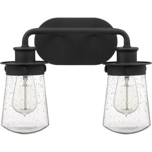 Quoizel - Lewiston Bath Light in Grey Ash
