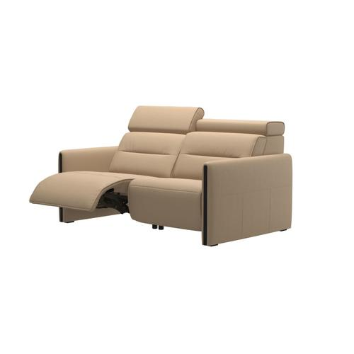 Stressless By Ekornes - Stressless® Emily 2 seater with left motor arm wood