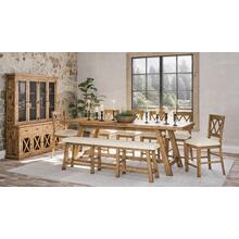 Telluride Trestle Table W/(6) Stools