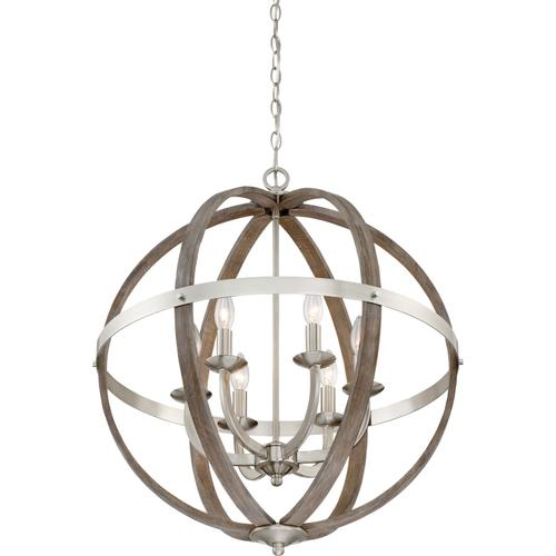 Quoizel - Fusion Pendant in Brushed Nickel