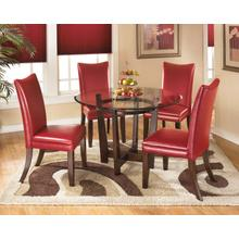 View Product - Charrell Red 5 Piece Dining Room Set