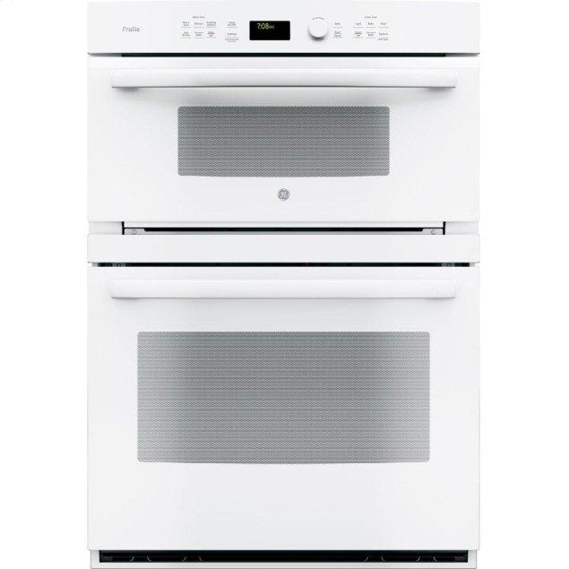 """GE Profile 30"""" Built-In Combination Convection Microwave/Convection Wall Oven"""