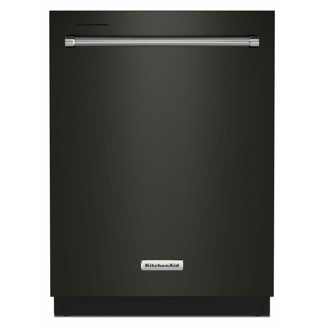 KitchenAid 39 dBA Dishwasher in PrintShield™ Finish with Third Level Utensil Rack - Black Stainless Steel with PrintShield™ Finish