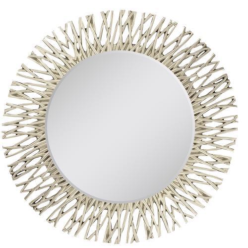 Silver Twig Mirror