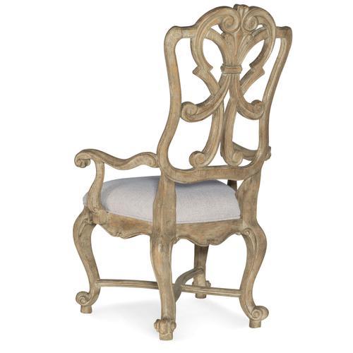 Hooker Furniture - Castella Wood Back Arm Chair-2 per ctn/price ea