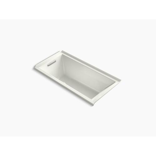 """Dune 60"""" X 30"""" Alcove Bath With Bask Heated Surface, Integral Flange and Left-hand Drain"""