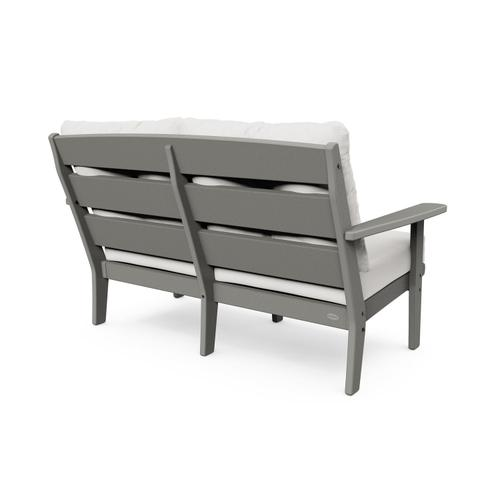 Sand & Ash Charcoal Lakeside Deep Seating Loveseat