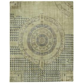 Vintage-Bastille Antique Bronze Hand Knotted Rugs