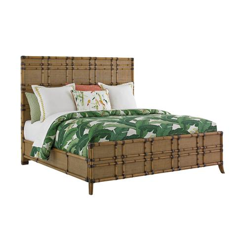 Coco Bay Panel Bed California King