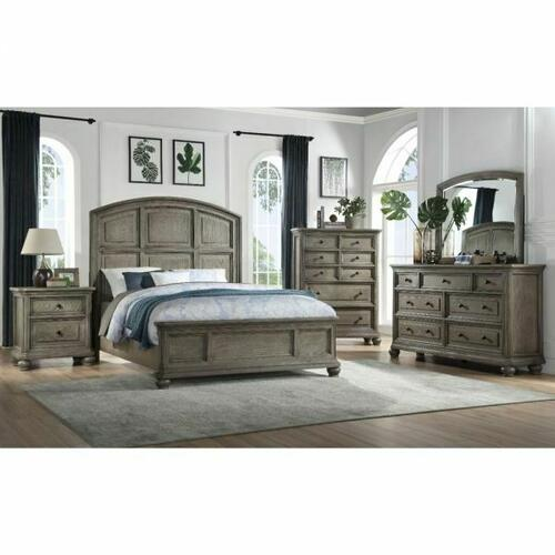 ACME Kiran Queen Bed - 22070Q - Gray