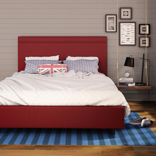 Breeze Upholstered Bed (self Welt) - Full