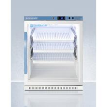 Performance Series Pharma-vac 6 CU.FT. Freestanding, ADA Height All-refrigerator for Vaccines Storage With Three Removable Ventilated Drawers