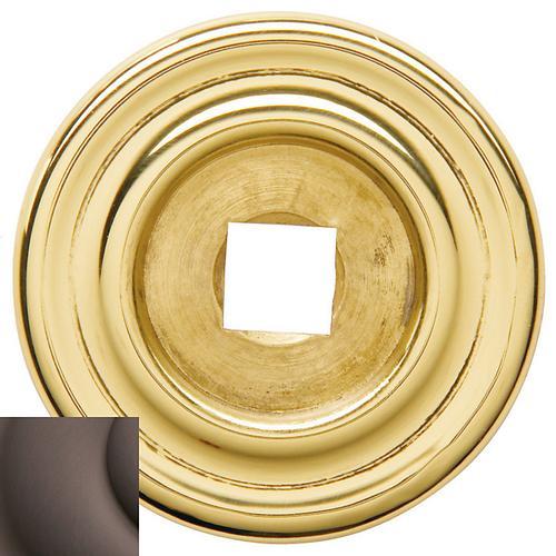 Baldwin - Venetian Bronze Knob Back Plate