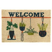 Doormat Hanging Plants Multi 24x36