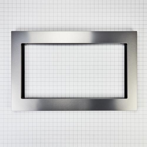 Whirlpool - Countertop Microwave Trim Kit, Anti-Fingerprint Stainless Steel