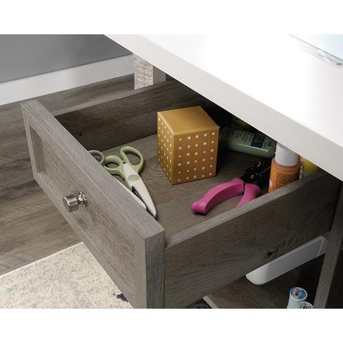 Durable Craft Work Table with Storage