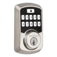View Product - Aura Bluetooth Enabled Smart Lock - Satin Nickel