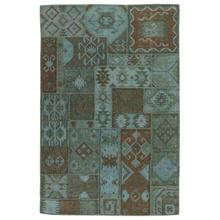 View Product - Patchwork Kilim Lagoon 9x12