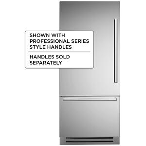 "Bertazzoni36"" Built-in refrigerator - Stainless - Left swing door"