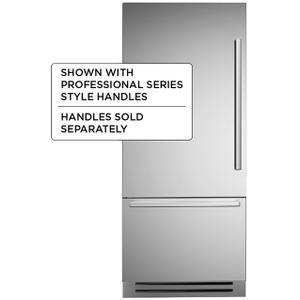 "36"" Built-in refrigerator - Stainless - Left swing door"