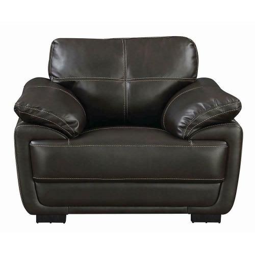 Zenon Casual Brown Chair