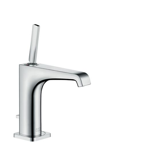Chrome Single-Hole Faucet 125 with Pop-Up Drain, 1.2 GPM