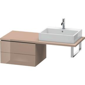 Low Cabinet For Console, Cappuccino High Gloss (lacquer)